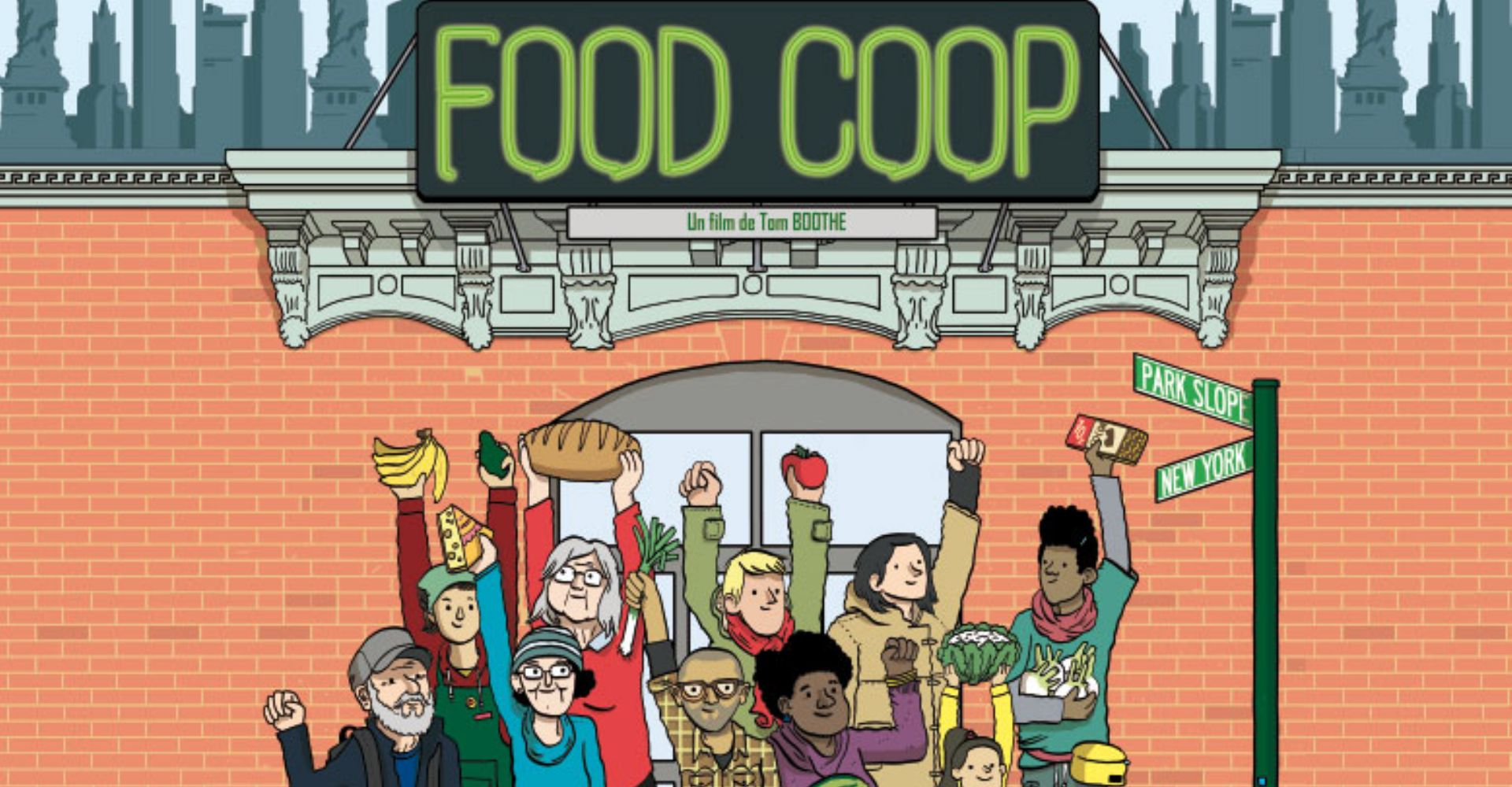 Proyección del documental Food Coop